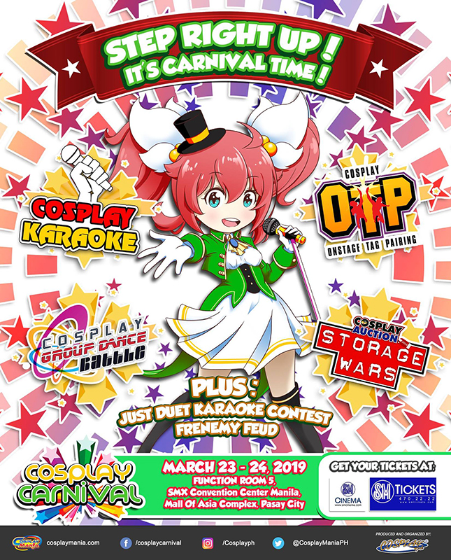 Anime 2019 March: Cosplay Carnival 2019: A Fun-Filled Cosplay Event This