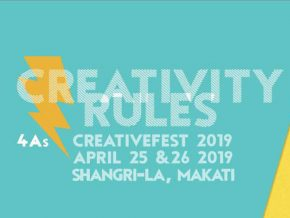 Creativity Rules at 4A's Creativefest 2019 this Coming April!