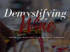 Estate Wine's Demystifying Wine Class With The Expat Sommelier