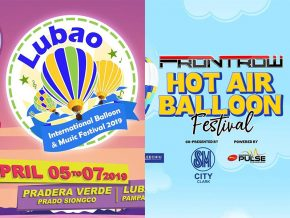 Two Grand Hot Air Balloon Festival Set to Happen in Pampanga This April