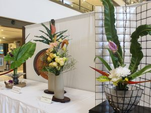 Ikebana Manila: Philippine-Inspired Flower Arrangement Exhibit at Shangri-La Plaza @ Shangri-La Plaza's Grand Atrium