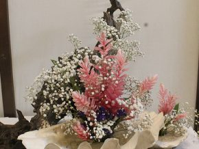Ikebana Manila: Philippine-Inspired Flower Arrangement Exhibit at Shangri-La Plaza