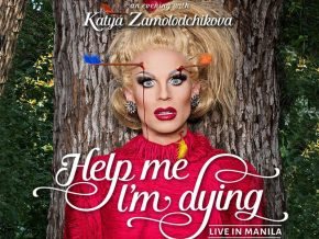 "Catch Katya Zamolodchikova's ""Help Me I'm Dying"" World Tour this May 9!"
