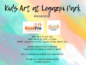 Kick-off Summer with Kids Art at Legazpi Park this March 23!