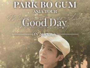 Park Bo Gum Coming to the Philippines in April 2019