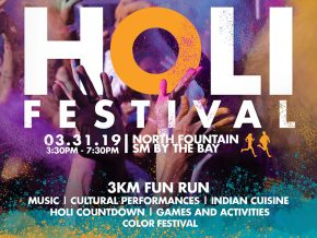 Holi Festival 2019 at SM By the Bay, MOA