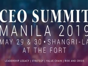 CEO Summit Manila 2019 this May 29-30 at Shangri-La at the Fort