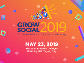 Learn the Ropes of Social Media Influencing with Grow Social 2019 This May