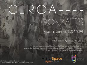 CIRCA by Lui Gonzales: An Exhibit of Torn Papers and Fleeting Memories