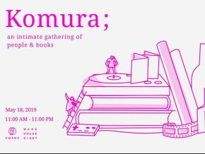 Komura; Book Fair 2019: An Intimate Gathering of People and Books