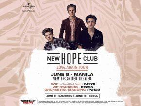 Catch New Hope Club's Love Again Tour in Manila this June!