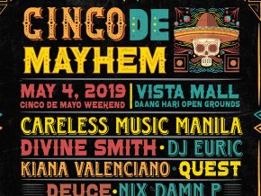 Cinco de Mayhem Music Festival This May 4, 2019