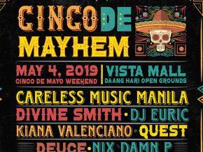 Cinco de Mayhem Music Festival This May 4, 2019