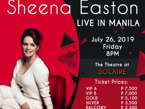 Sheena Easton Live at The Theatre @ The Theatre at Solaire