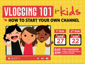 Vlogging 101 for Kids: How to Start Your Own Channel This April and June