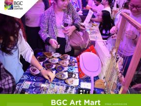 BGC Art Mart Returns This April 12-13