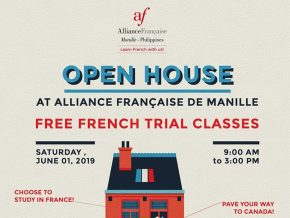 Learn French at Alliance Française de Manille's Free Trial Classes