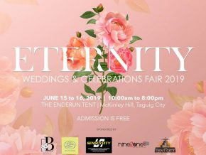 Eternity: Weddings and Celebrations Fair 2019 at the Enderun Tent