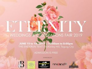 Eternity: Weddings and Celebrations Fair at the Enderun Tent @ The Enderun Tent