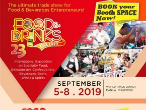 Food & Drinks Asia 2019 Is Happening on September 5 to 8