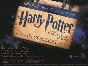 Harry Potter And The Sorcerer's Stone In Concert LIVE at The Theatre at Solaire! @ The Theatre at Solaire