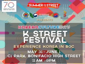Experience Korea at the K-Street Festival Starting on May 31!