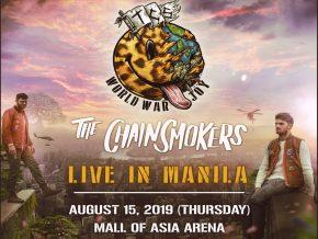 The Chainsmokers Returns to Manila for their World War Joy Tour this August 15!