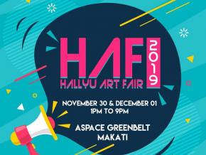 Hallyu Art Fair 2019 Will Be Happening on November 30 to December 1