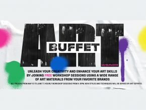 Art Buffet by Fully Booked: Indulge in New Art Styles and Materials