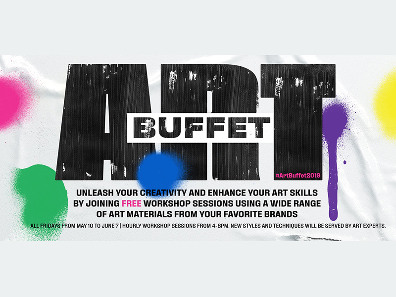 Art Buffet by Fully Booked: Indulge in New Art Styles and