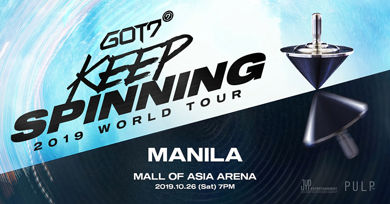 Korean Group GOT7 LIVE in Manila This October | Philippine Primer