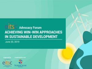 Achieving Win-Win Approaches Sustainable Development @ Dusit Thani Manila