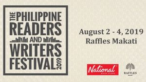 Philippine Readers and Writers Festival is Back This Year! @ Raffles Makati