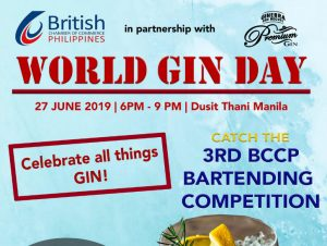World Gin Day 2019 @ Dusit Thani Manila