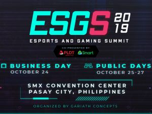 E-Sports and Gaming Summit 2019 @ SMX Manila