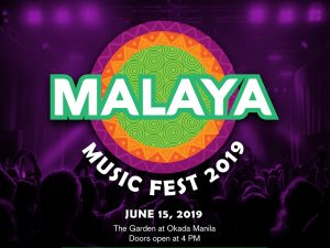 Malaya Music Festival 2019 @ The Garden at Okada Manila