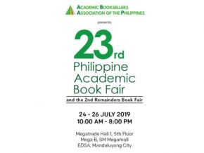 The Philippine Academic Book Fair is Back For Its 23rd Year