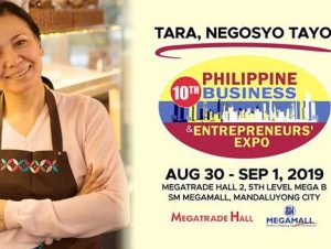Connect and Grow Your Businesses at the 10th Philippine Business & Entrepreneurs' Expo! @ Megatrade Hall 2, 5/F Mega B, SM Megamall