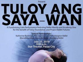 Ballet Manila and Academy One Present Tuloy Ang Saya-Wan