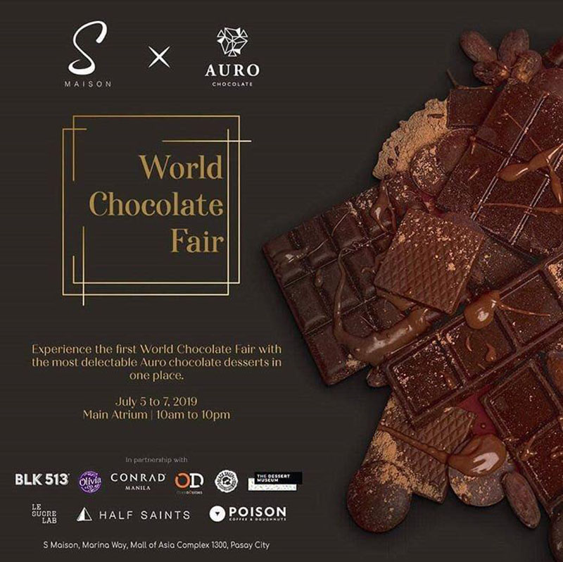 Indulge in the First World Chocolate Fair This July | Philippine Primer