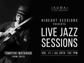 Chill and Unwind at Ikomai's Hideout Live Jazz Sessions Vol. 17