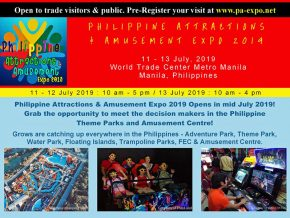 Catch the First Philippine Attractions & Amusement Expo 2019