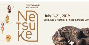 Learn More About the Intricate Carvings of 'Netsuke' at Contemporary Wood-Carved Netsuke Exhibition! @ 3rd Level Gallery of Greenbelt 5, Makati City