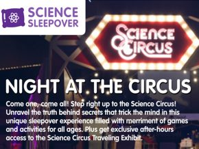 Experience Science Sleepover: Night at the Circus at The Mind Museum