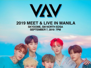 Watch the Members of VAV LIVE in Manila This September