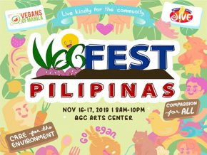VegFest Pilipinas Advocates to Live Kindly for the Community