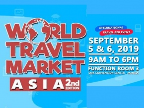Catch the 2nd World Travel Market Asia This September