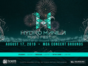 Get Ready to Party and Celebrate Music at the Hydro Manila 2019