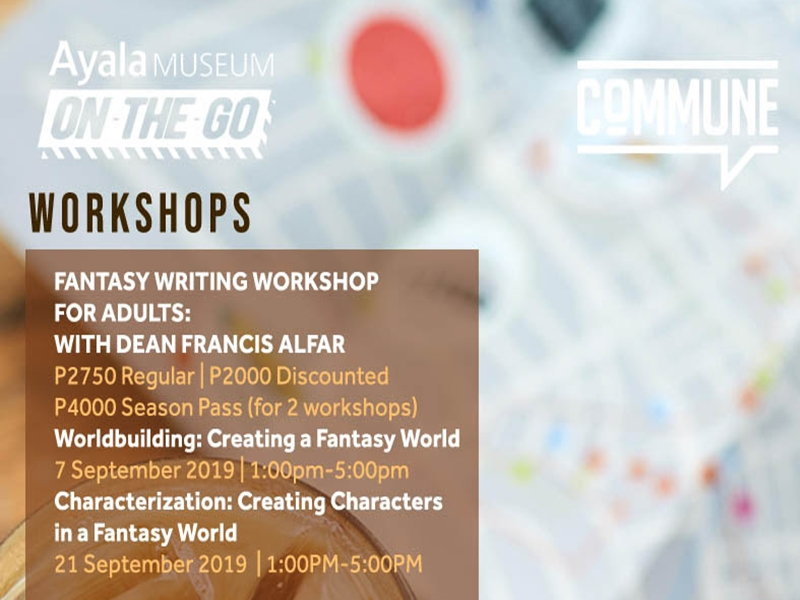 Ayala Museum Hosts Workshops and Talks On-The-Go at Commune
