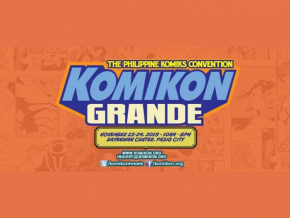 Komikon Grande 2019 Puts A Spotlight on Filipino Comics